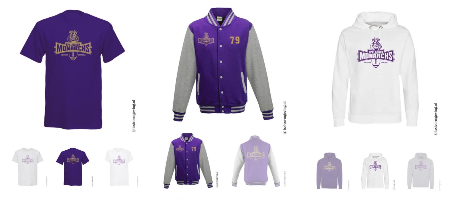 ISSI Vormgeving - Apeldoorn Monarchs Shop Merchandise